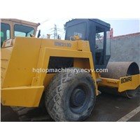 Second-Hand Used Bomag 213D Road Rollers Compactor