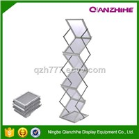 6 layers brochure holder stand display rack