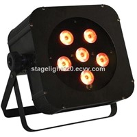 6pcs RGBAW UV LED Battery Wireless Uplight,6in1 Battery Powered LED Stage Lighting