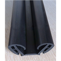 Car Accessory EPDM Extruded Rubber Door Weather Stripping Profile
