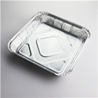 Square aluminum foil pan disposable pan