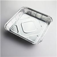 Square aluminum foil pan disposable pan