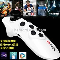 2016 new design multifunctional game pad for 3d vr cases joystick bluetooth vr controller
