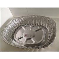 Disposable aluminum foil food use roaster turkey pan