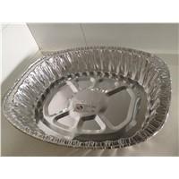 Disposable aluminum foil food use roaster turkey pan