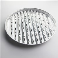 Hot sale aluminum food grade disposable bbq grill pan