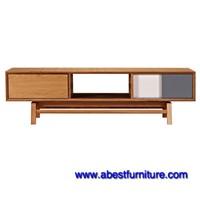 Living room TV Stand The Platform Credenza/Media Cabinet