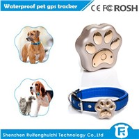 worlds smallest gps tracking device cheap mini pet dog collar gps tracker for cat / cow gps tracker