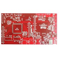 6-Layer Multilayer Printed Circuit Board with Lead-Free HASL Finish