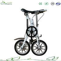 14'' carbon steel one second folding bike