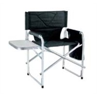 Aluminum  director chair with small table and bag for outdoor camping fishing garden hiking