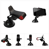 360 Degree Rotational Car Phone Holder Stand Dashboard Windshield Mount for Smart phones (FWA003)