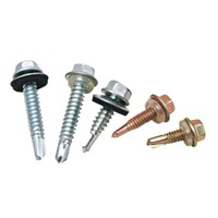 Hex Washer Head Self Drilling Screw with EPDM bonded washer