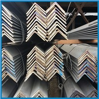 JIS standard hot rolled angel steel, black or galvanized
