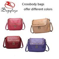 2016 Wholesale leather crossbody bags, leather bag for women