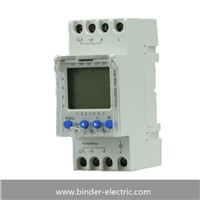Ahc822 weekly programmable time switch Battery Relay Dpdt 2c