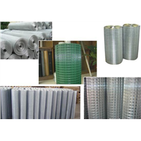 Galvanized Welded Wire Mesh/pvc coated/stainless steel welded wire mesh