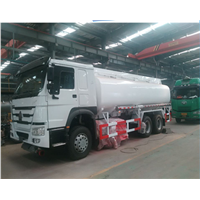 HOWO oil tanker semi- trailer fuel tankers