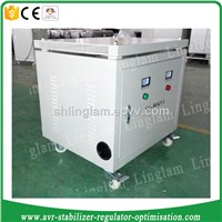 3 phase 80kva dry type power transformer with case
