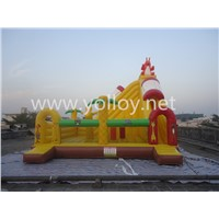Factory Amusement Park Inflatable Bouncy Slide for Sale