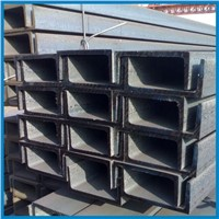 Carbon Mild Structural Steel U Section , Q235B Instruction Material U Shaped Steel Bar