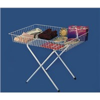 Wire Display Racks ideal for sales, seasonal promotions,
