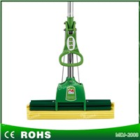 Extensive pole PVA sponge mop