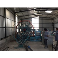 Full Automatic Wire Cage Welding Machine to India Market