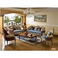 Luxury French Baroque Living Room Sofa Set Hand Carved Beige European Antique
