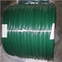 Factory hot sale pvc coated Green color binding wire
