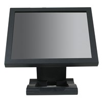 15 inch dustproof waterproof Aluminum frame   touch screen  monitor