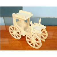 Large Inventory New Design Classic Car Wooden Kids Gifts Toys from Wood 3D Puzzle