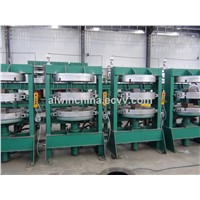 Two-day-light tire tube curing press