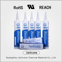 Excellent adhesiveness white paste one component sealant/adhesive silicone sealant