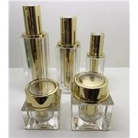 30gram 50gram gold square Acrylic jar