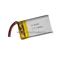 High capacity  lithium polymer battery 903048 3.7V 1000mAh lipo battery