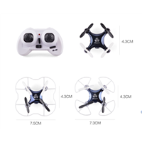 New Mini UAV 2.4G 4 Channels 6-Axis Gyro Aircraft RC Drone Quadcopter with 0.3MP Camera (FWU100C)