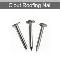 Clout roofing nails