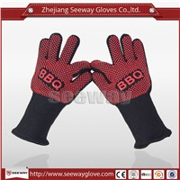 SeeWay F350 EN407 standard protect 350C oven gloves made of cotton
