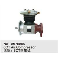 Dongfeng Cummins engine part 6C 230P air compressor C3970805/3967704