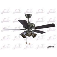 East Fan 42inch Five Blade Indoor Ceiling Fan with light