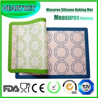 Non stick silicone baking mat sheet, silicone mat with custom printing wholesale