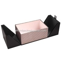 PU and fabric made perfume box Manufacturer