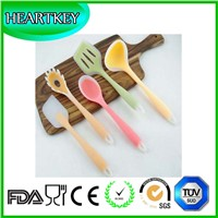 Silicone Baking Set - Spatulas, Spoons & Turner - Heat Resistant Cooking Utensils
