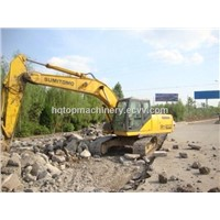 Used Crawler Excavator Sumitomo SH210 Second-Hand Track Digger