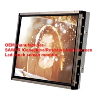 (8-55'') 27 inch dustproof  anti-glare vandalproof  saw touch monitor