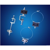 Down-Leading Clamp for ADSS/OPGW