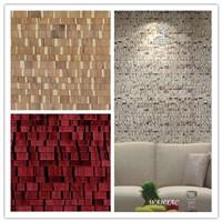New design for interior decoration,luxury nature handmade wallpaper