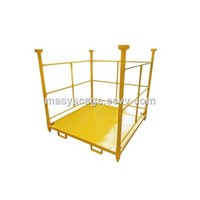 Warehouse Stacking Tire Rack Storage Steel Post Pallet