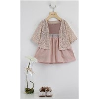Girls two pieces suit